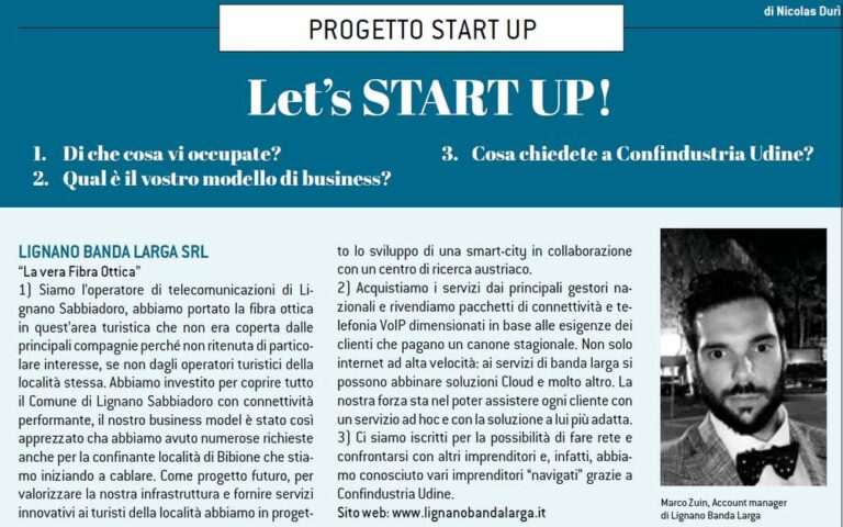 Progetto start up